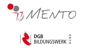 Logo von DGB- Projekt MENTO