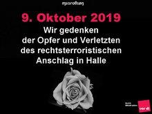 Wir Gedenken der Opfer von Halle