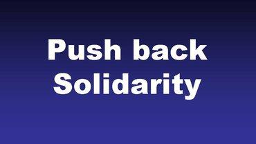 Bild Infografik #PushbackSolidarity