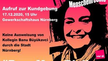 Aufruf zur Kundegbung: #BanuMussBleiben