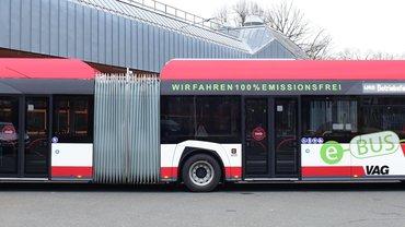 Busse der VAG Verkehrs-Aktiengesellschaft Nürnberg