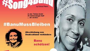 Flyer: #Song4Banu