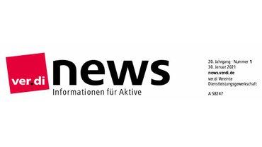 ver.di NEWS 01/21
