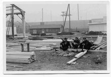 1961: Gastarbeiter bei der Arbeit