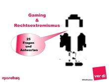 Bild zu Gaming und Rechtsextremismus