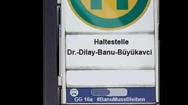Frauenaktion #BanuMussBleiben
