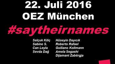 OEZ- Attentat am 22.07.2016