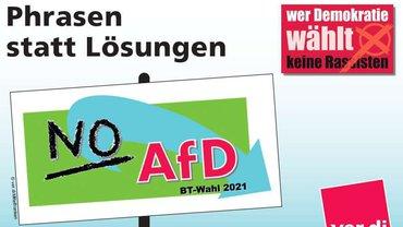 Phrasen statt Lösungen- NO AfD
